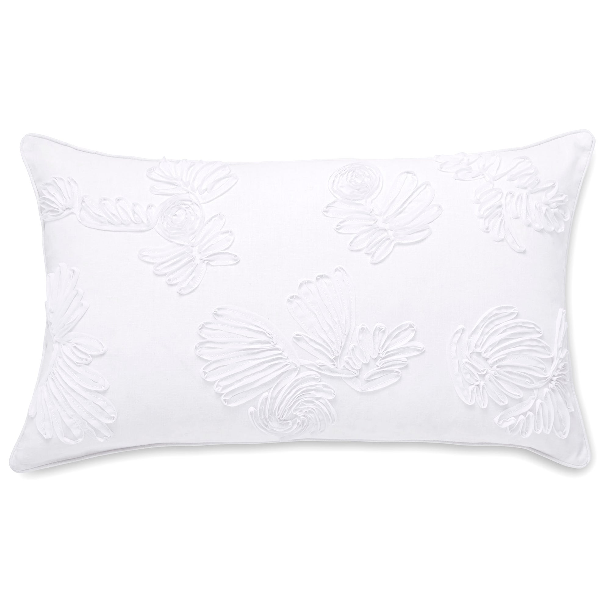 Ribbon Flora Boudoir Cushion