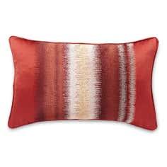 Terracotta Textured Band Cushion