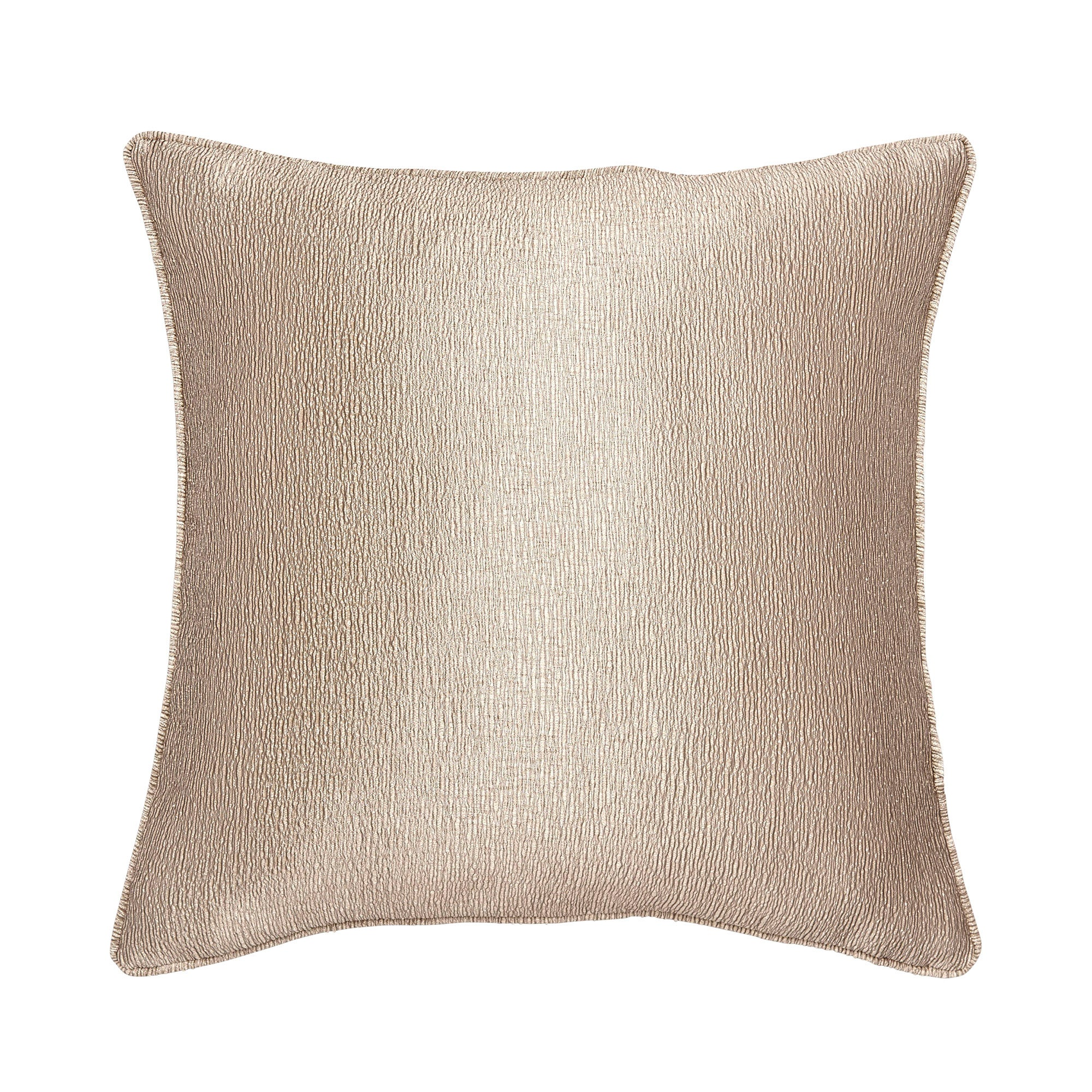 Metallic Crinkle Cushion