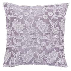 Eliza Pearl Lace Cushion