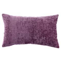 Mauve Chenille Boudoir Cushion