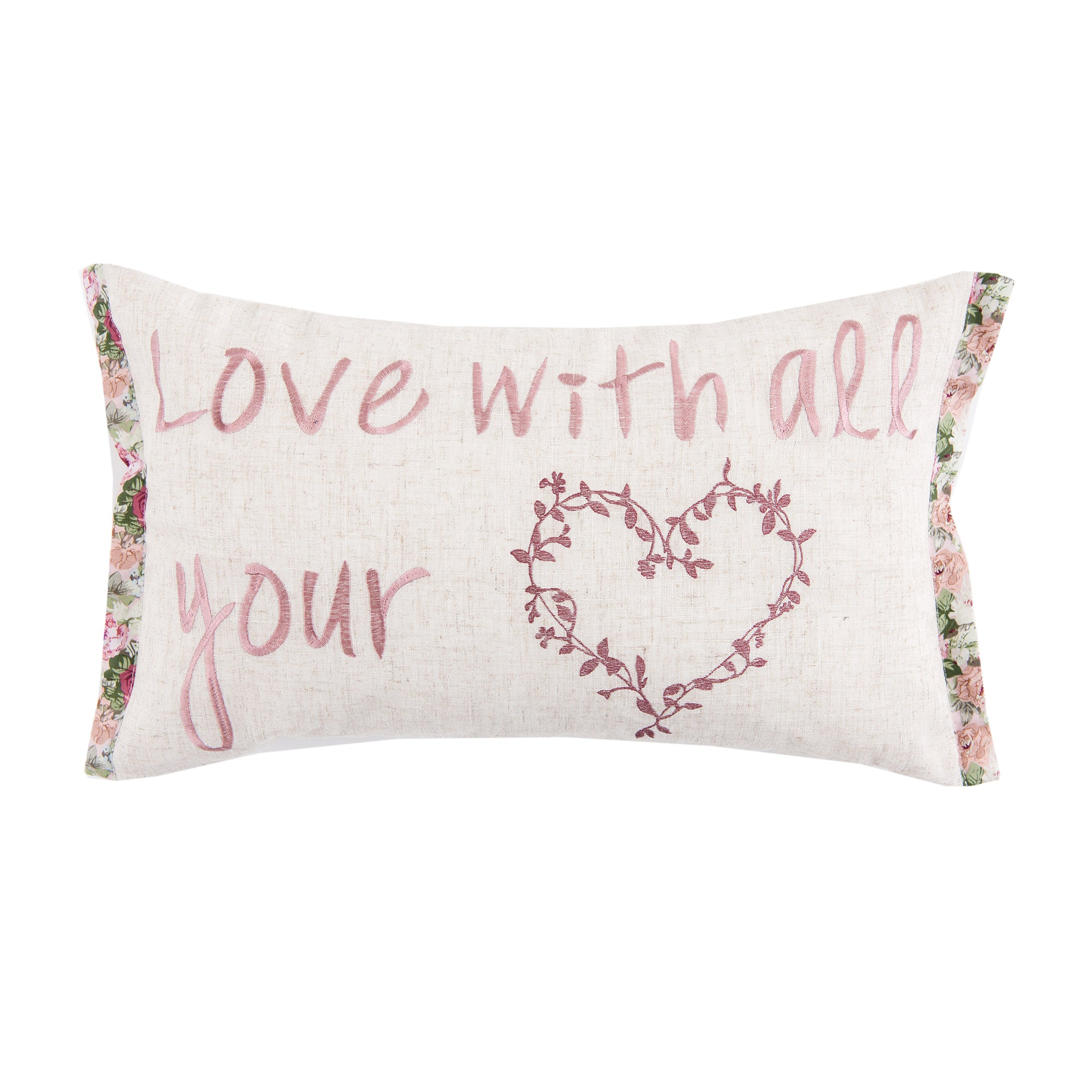 Love With All Your Heart Cushion