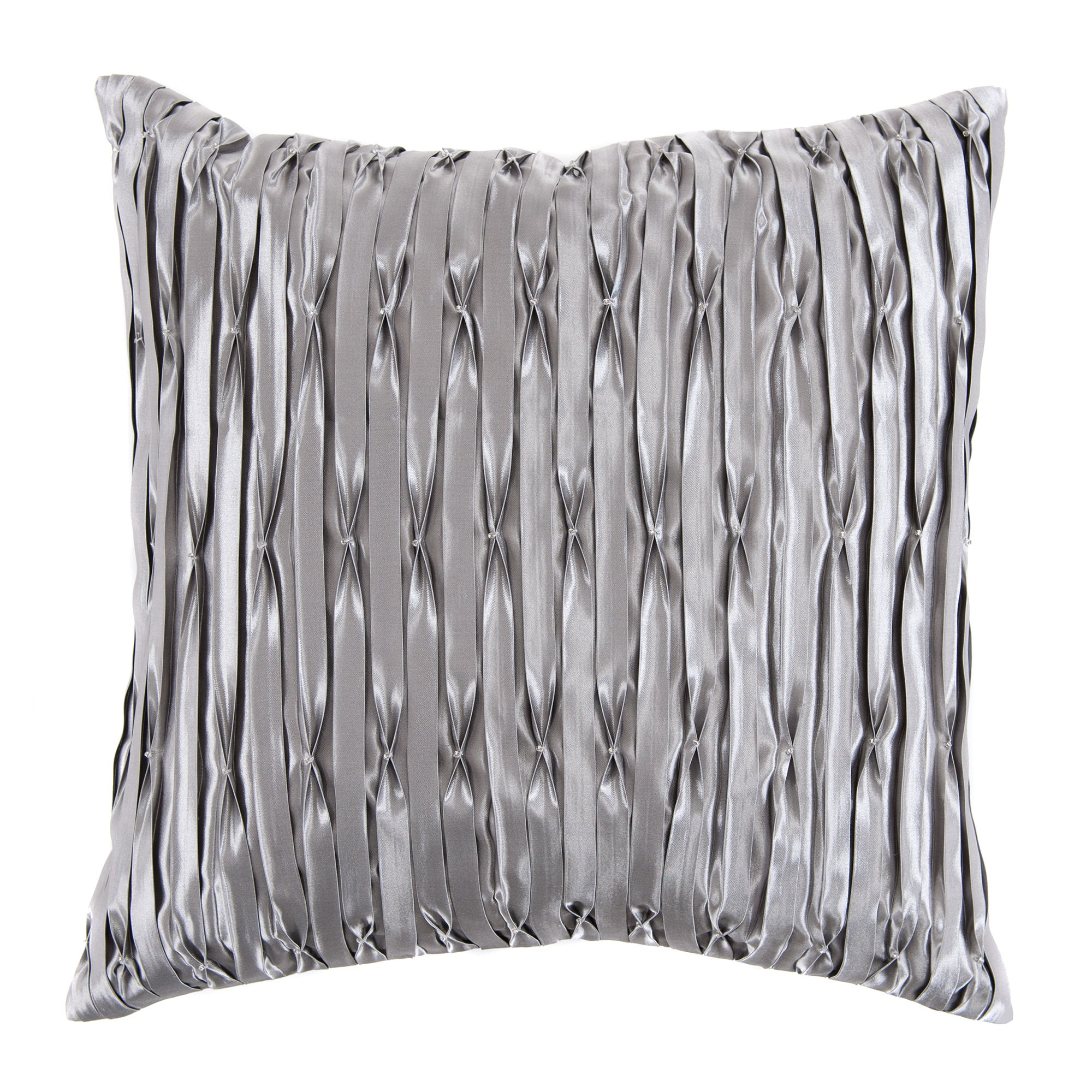 Gunmetal Madeleine Cushion