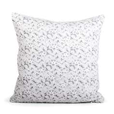 White Anya Lace Cushion