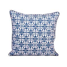Blue Casablanca Cushion
