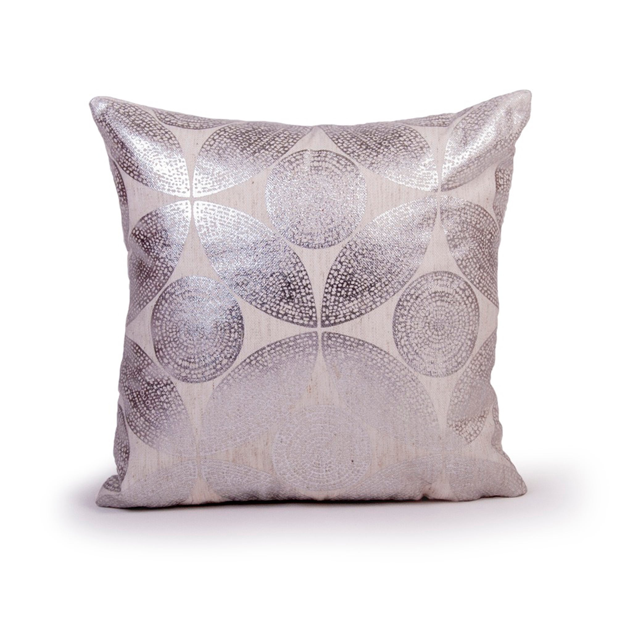 Silver Reuben Cushion