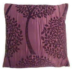 Purple Birch Cushion Cover