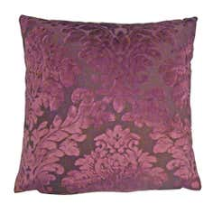 Plum Genoa Cushion Cover