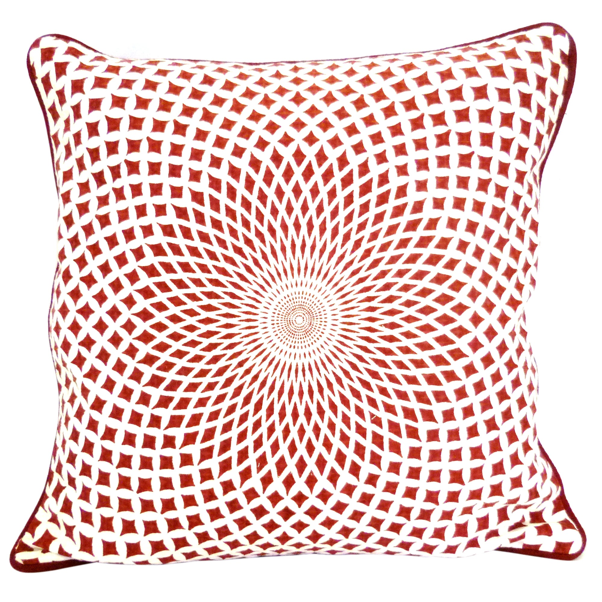 Floral Illusion Cushion