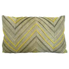 Zig Zag Pleat Cushion