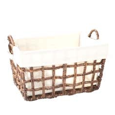 Maize Leaf Basket with Handles