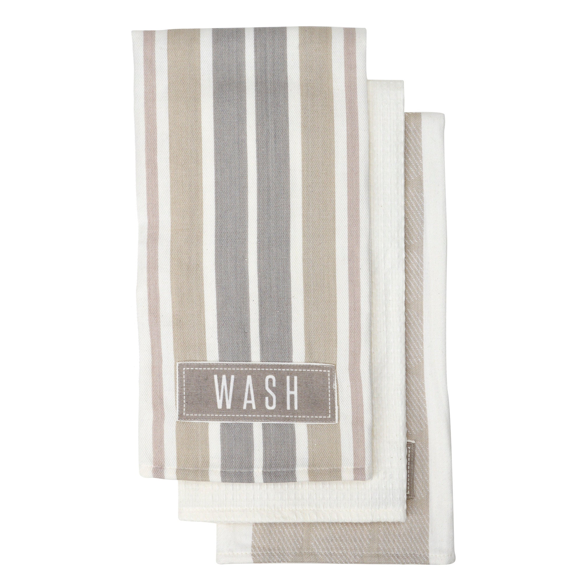 Chalk Cottage Pack of 3 Tea Towels