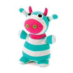 Kids Socky Dolls Microwavable Cow