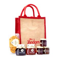 Mrs Bridges Jute Shopping Hamper