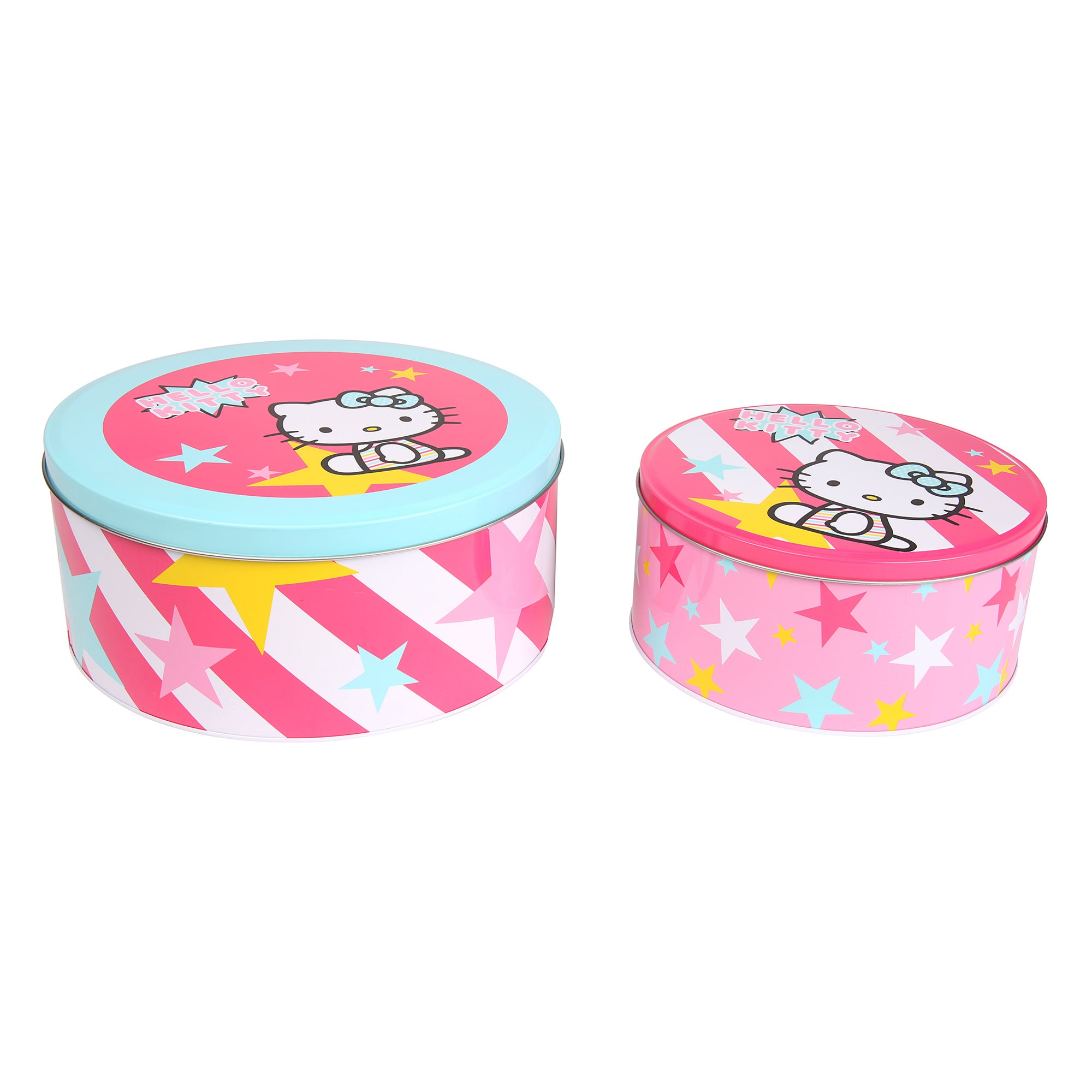 Hello Kitty Set of 2 Cake Tins