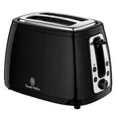 Russell Hobbs Heritage 18261 Black 2 Slice Toaster