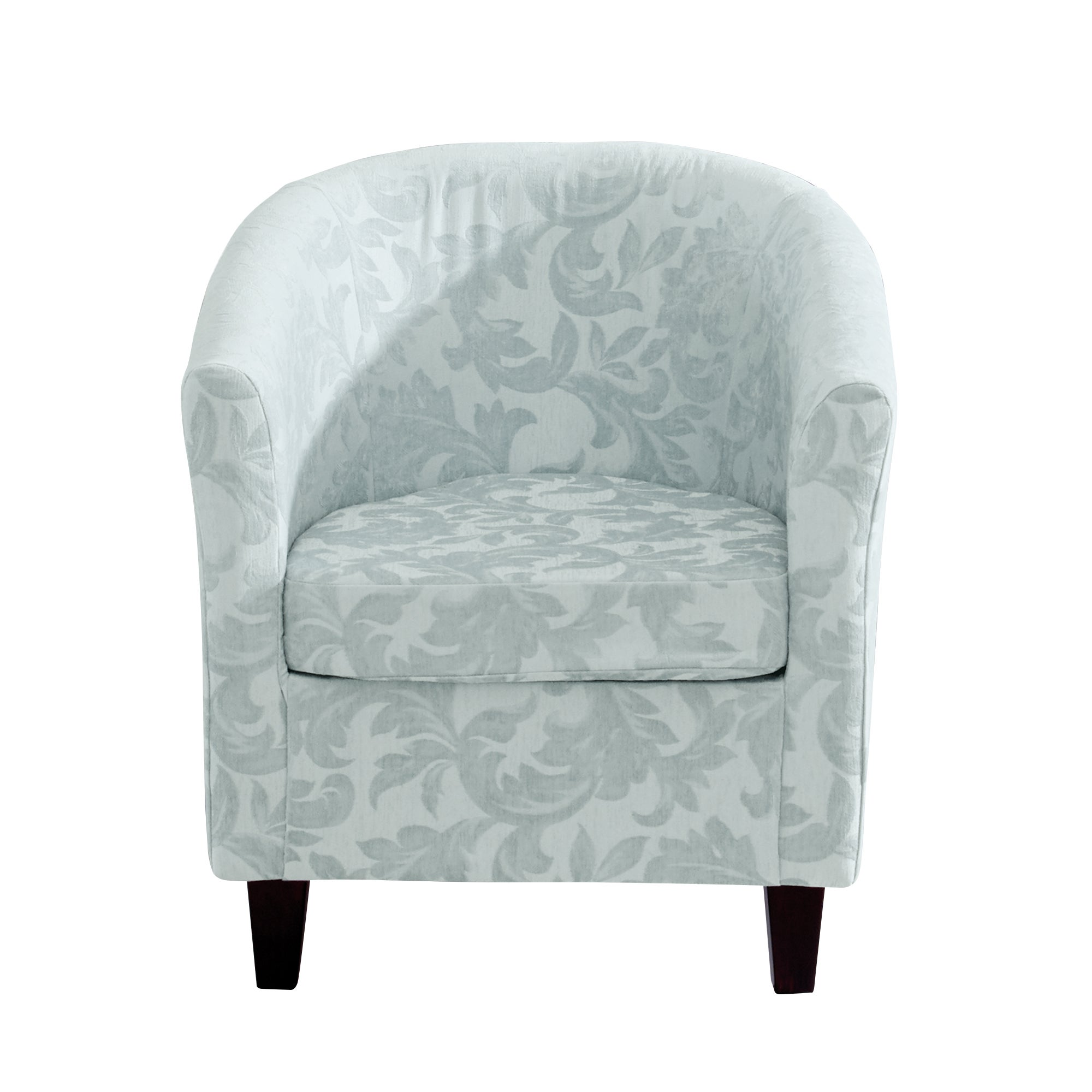 Acanthus Floral Tub Chair