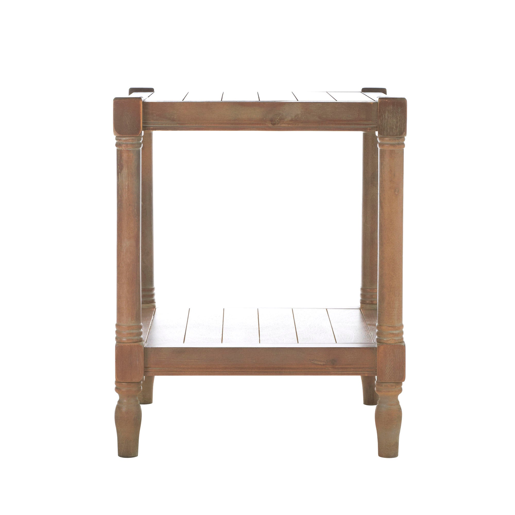 Wellington Washed Wood Side Table