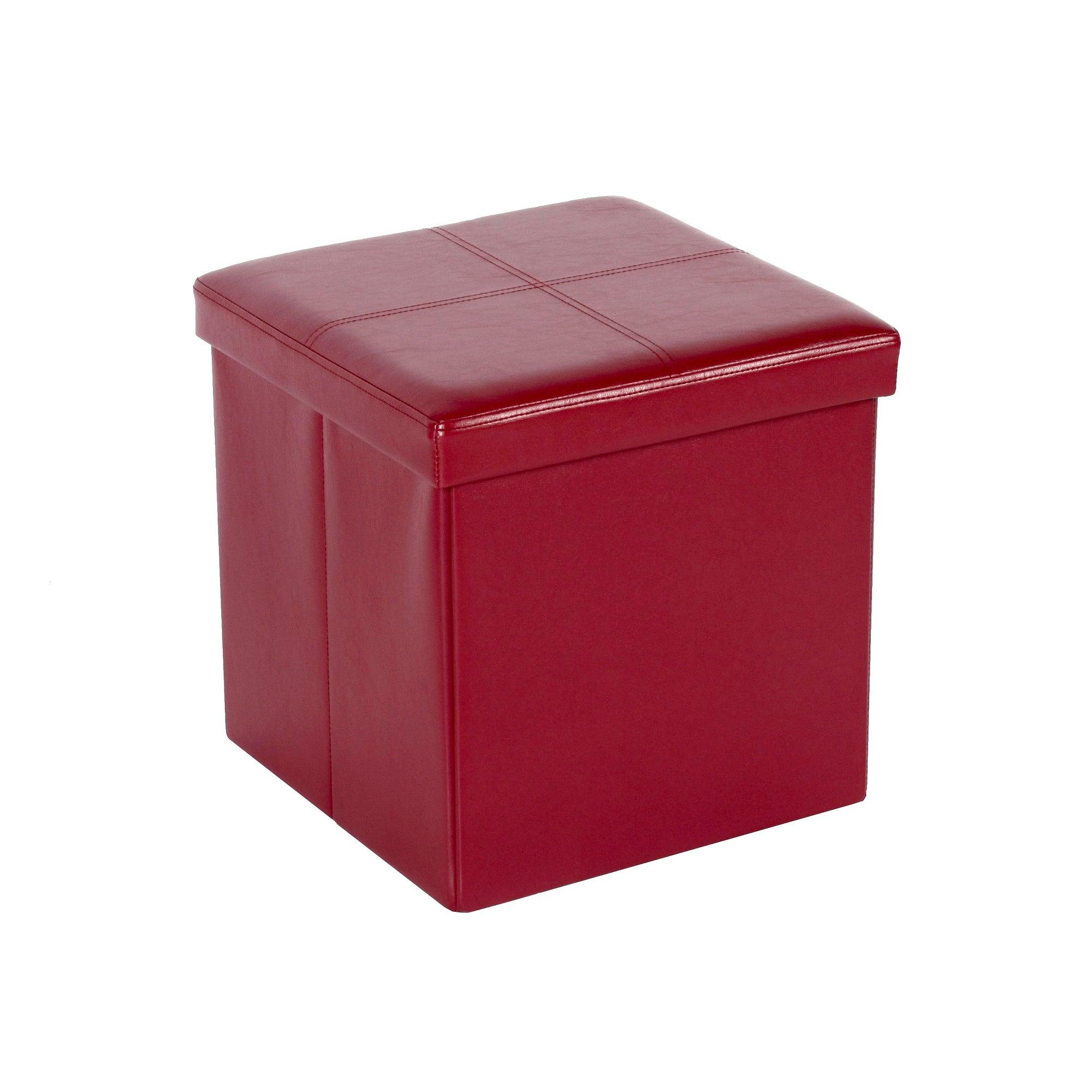 Carter Foldable Cube Ottoman
