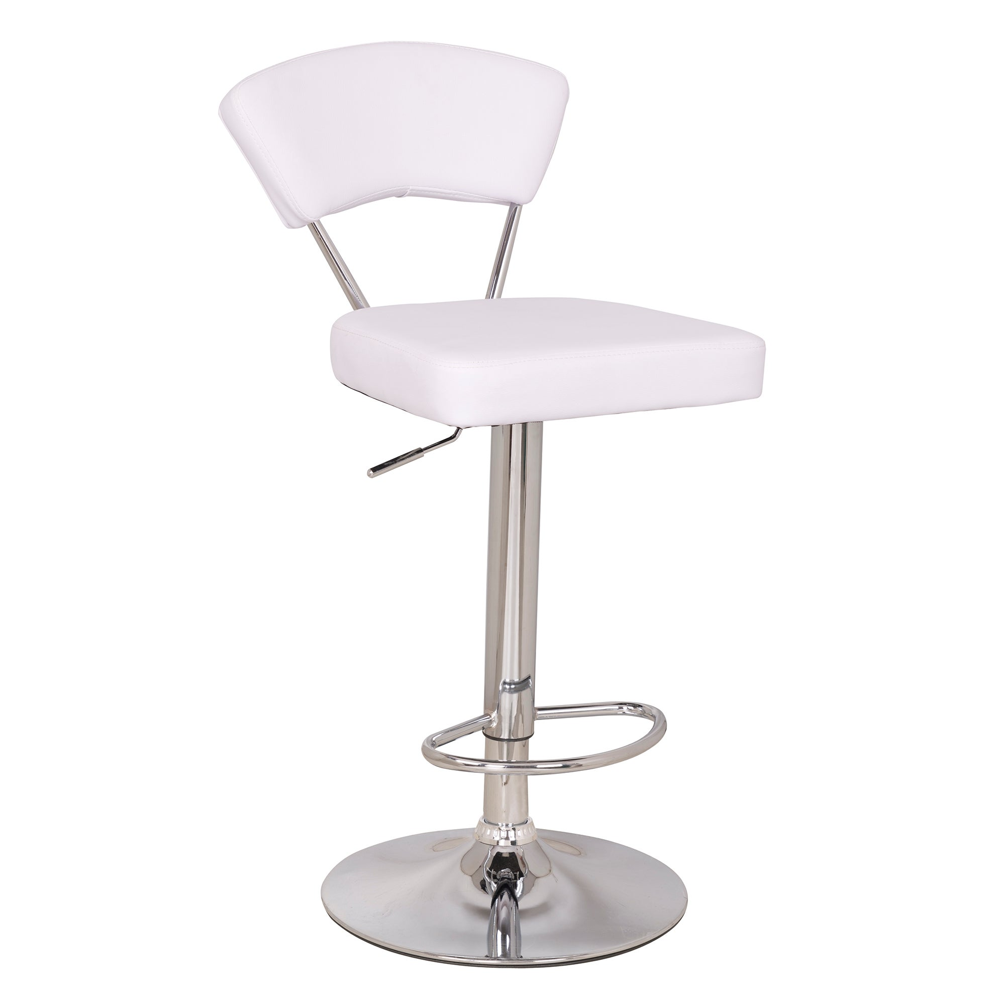 Astrid Upholstered Gas Lift Bar Stool