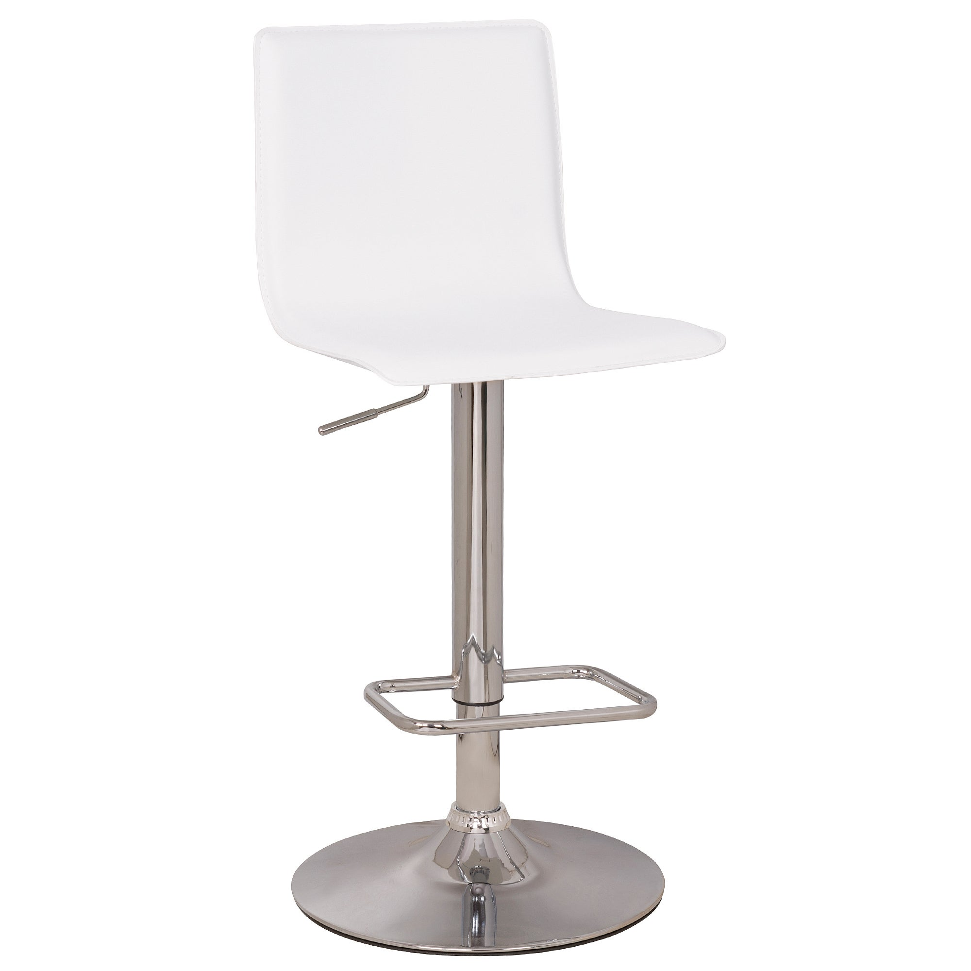 Aura Upholstered Gas Lift Bar Stool