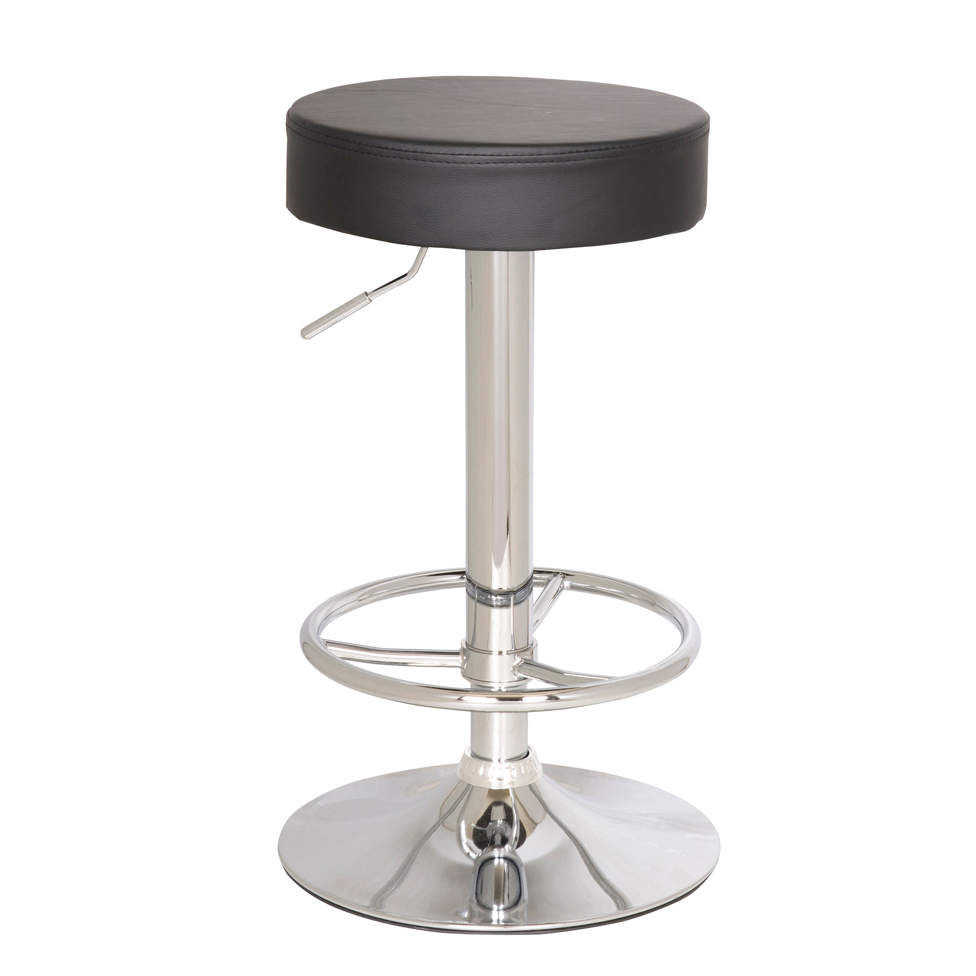 Vesper Upholstered Gas Lift Bar Stool