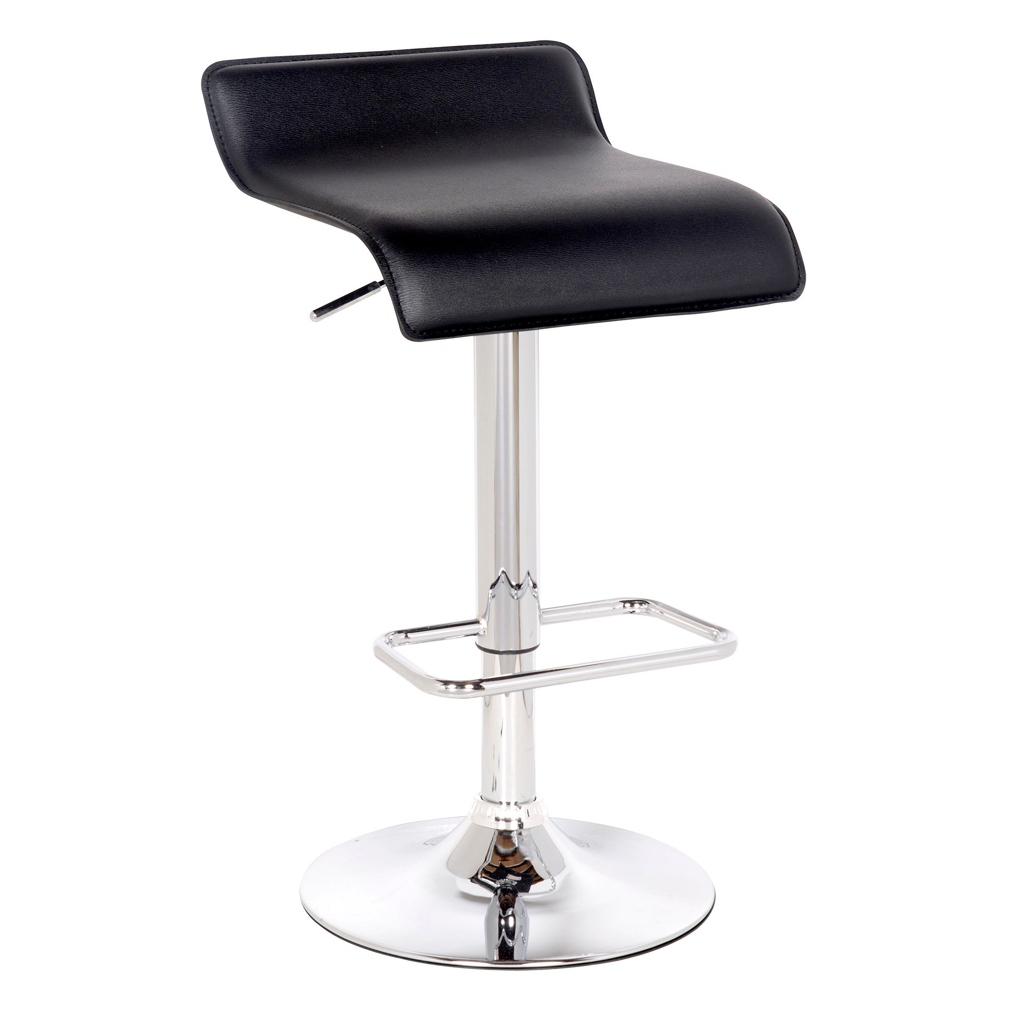 Fusion Upholstered Gas Lift Bar Stool