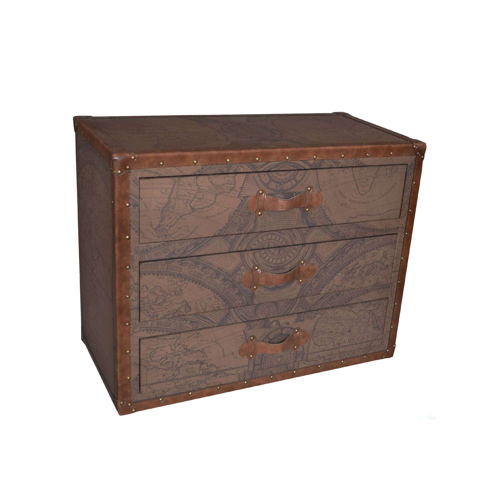 Colonial Collection 3 Drawer Wide Chest