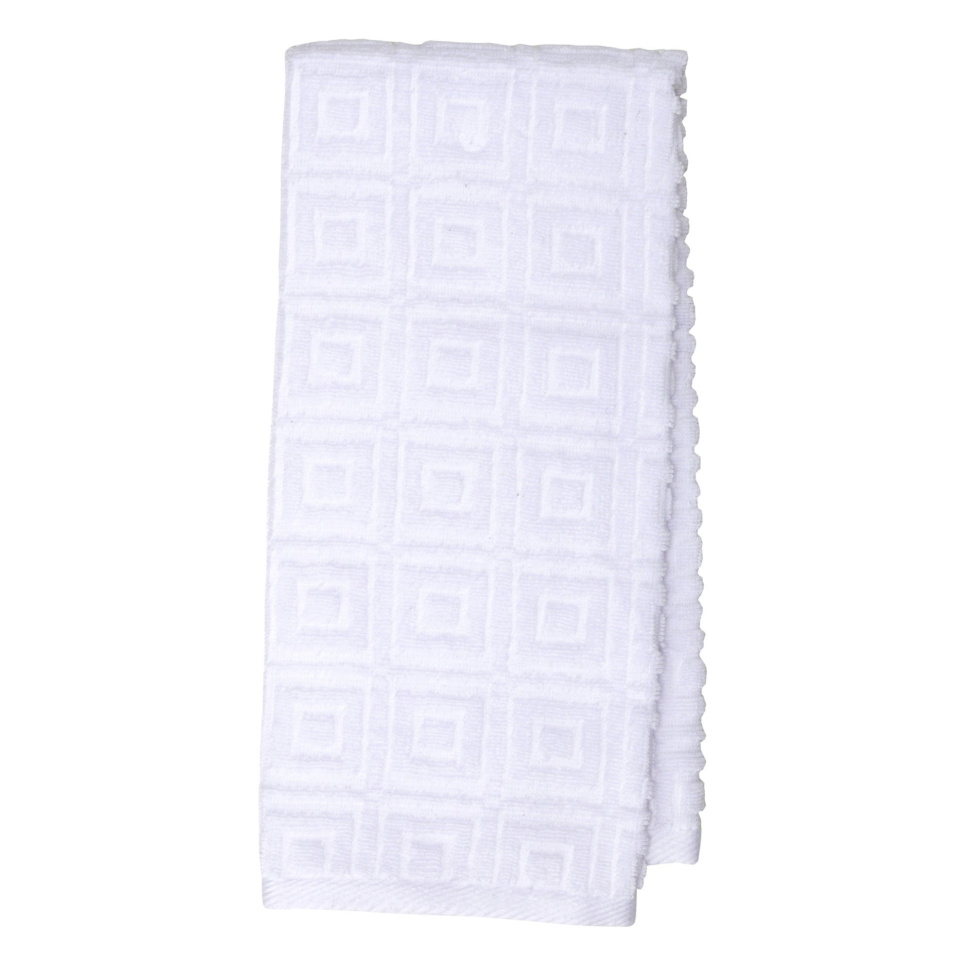 Square Jacquard Tea Towel