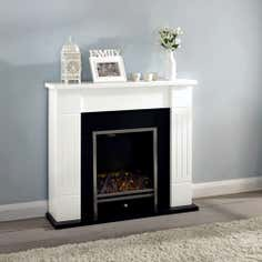 Adam Aston Electric Fireplace Suite