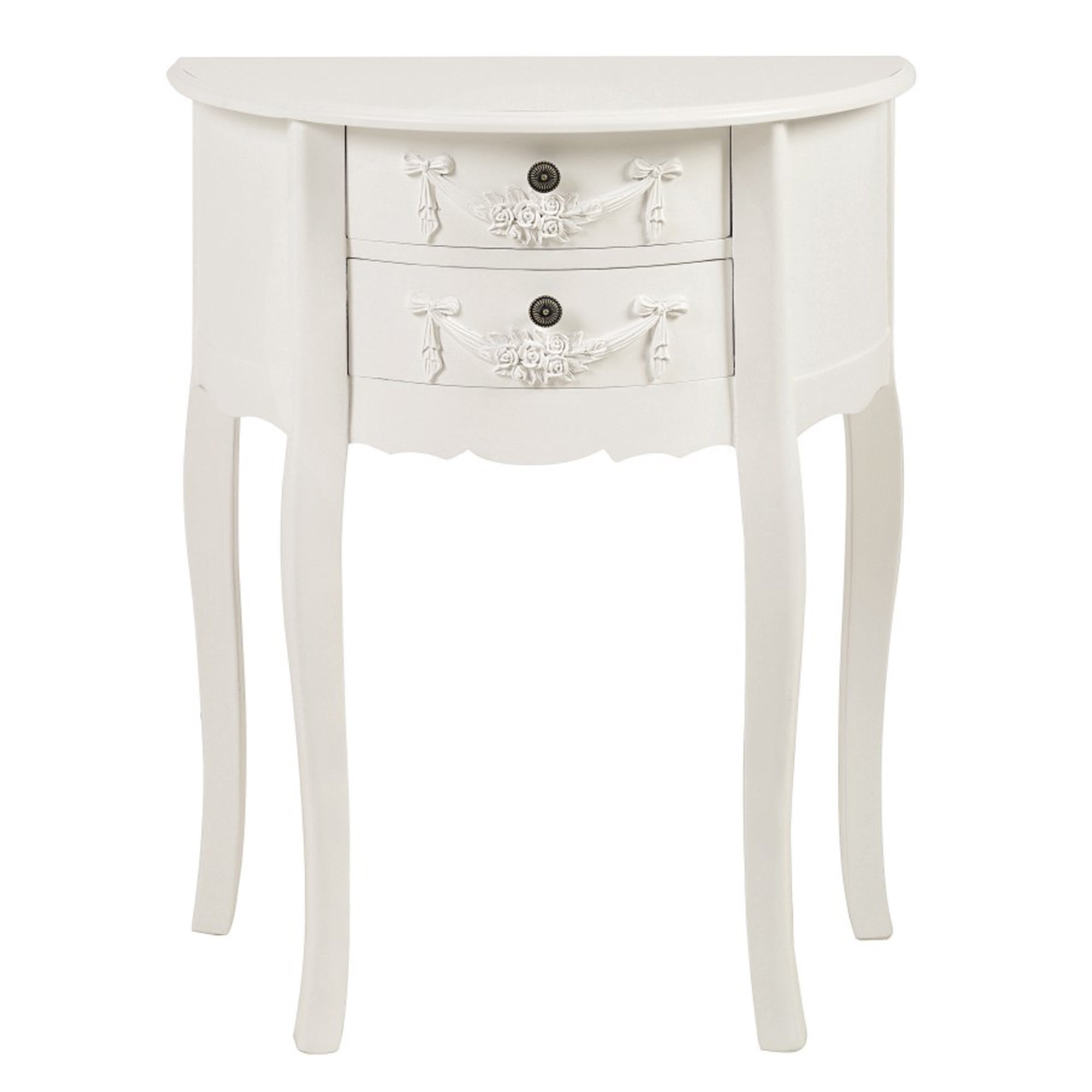 Toulouse White Side Table