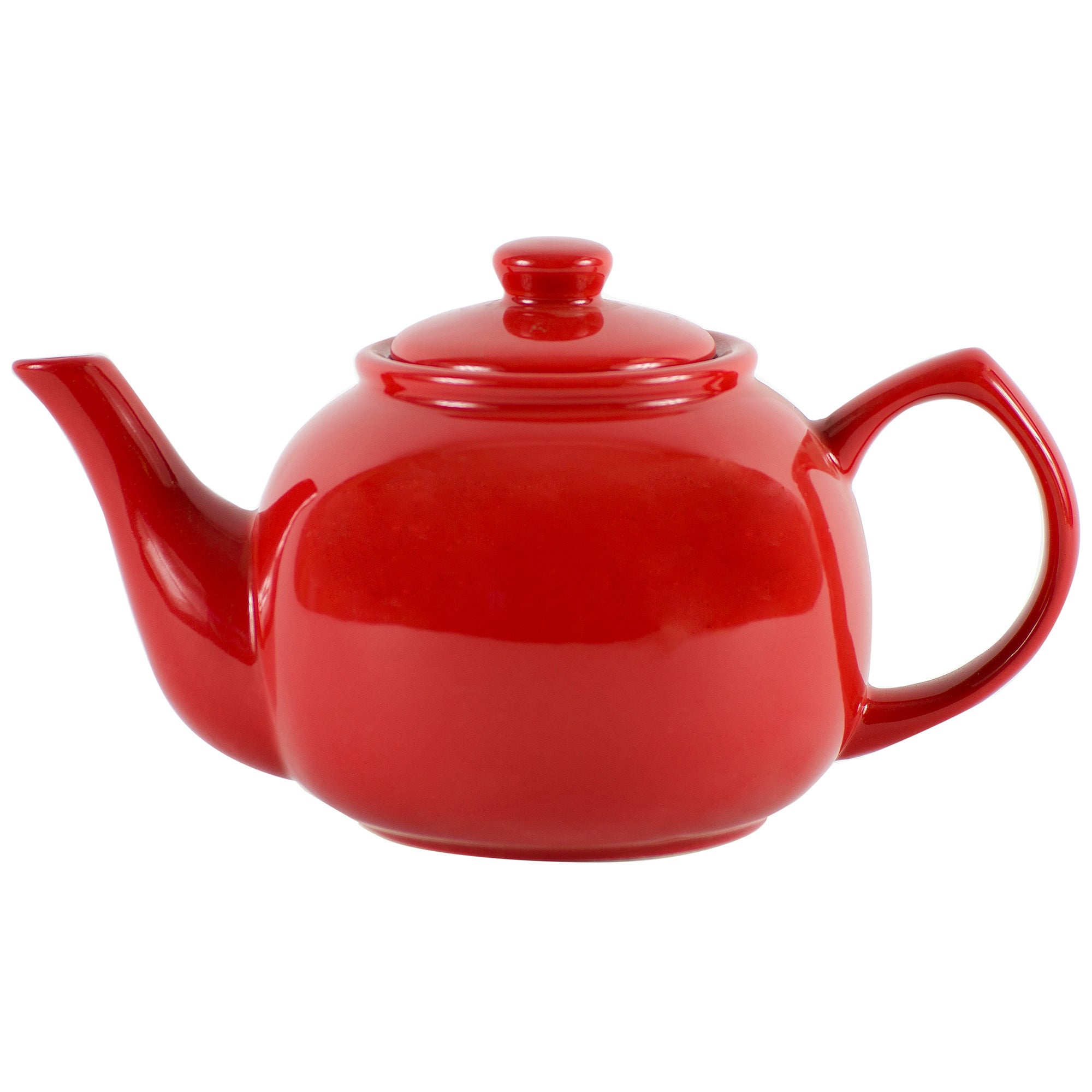 Red Brights Teapot
