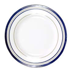 The Hamptons Collection Stripe Dinner Plate