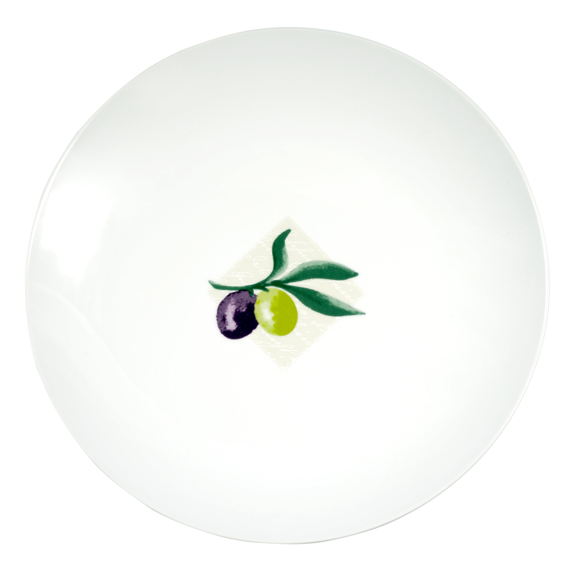 Olive Collection Dinner Plate