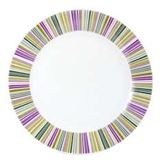 Revival Stripe Collection Dinner Plate