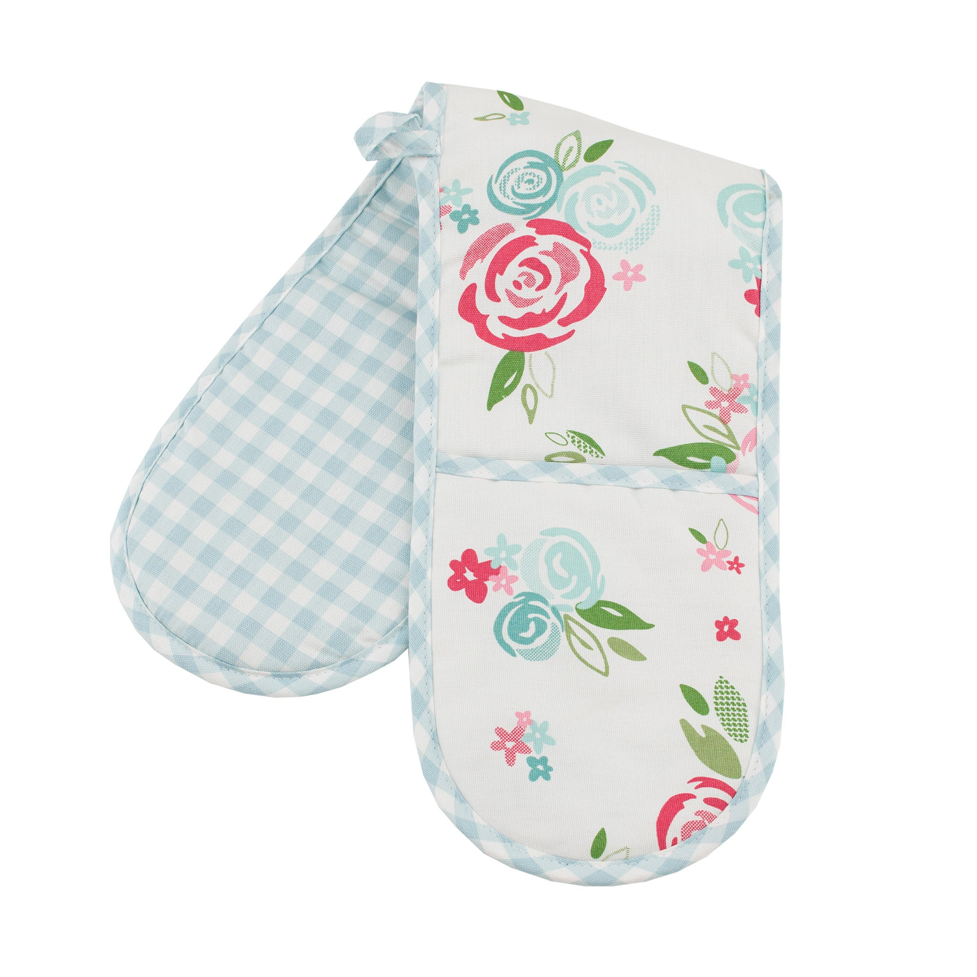 Candy Rose Collection Double Oven Glove