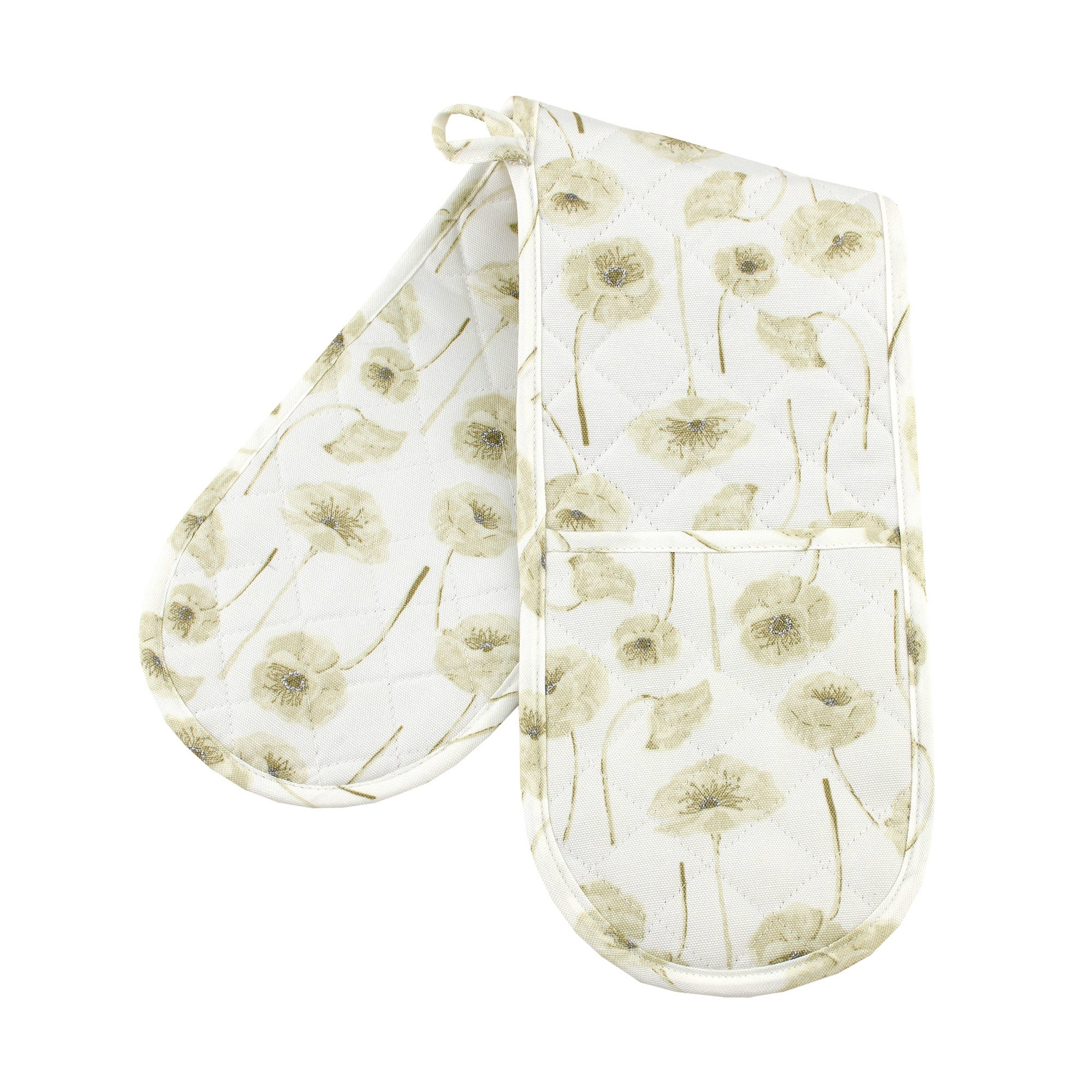 Natural Flower Collection Double Oven Glove
