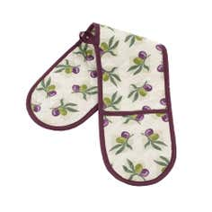 Olive Collection Double Oven Glove