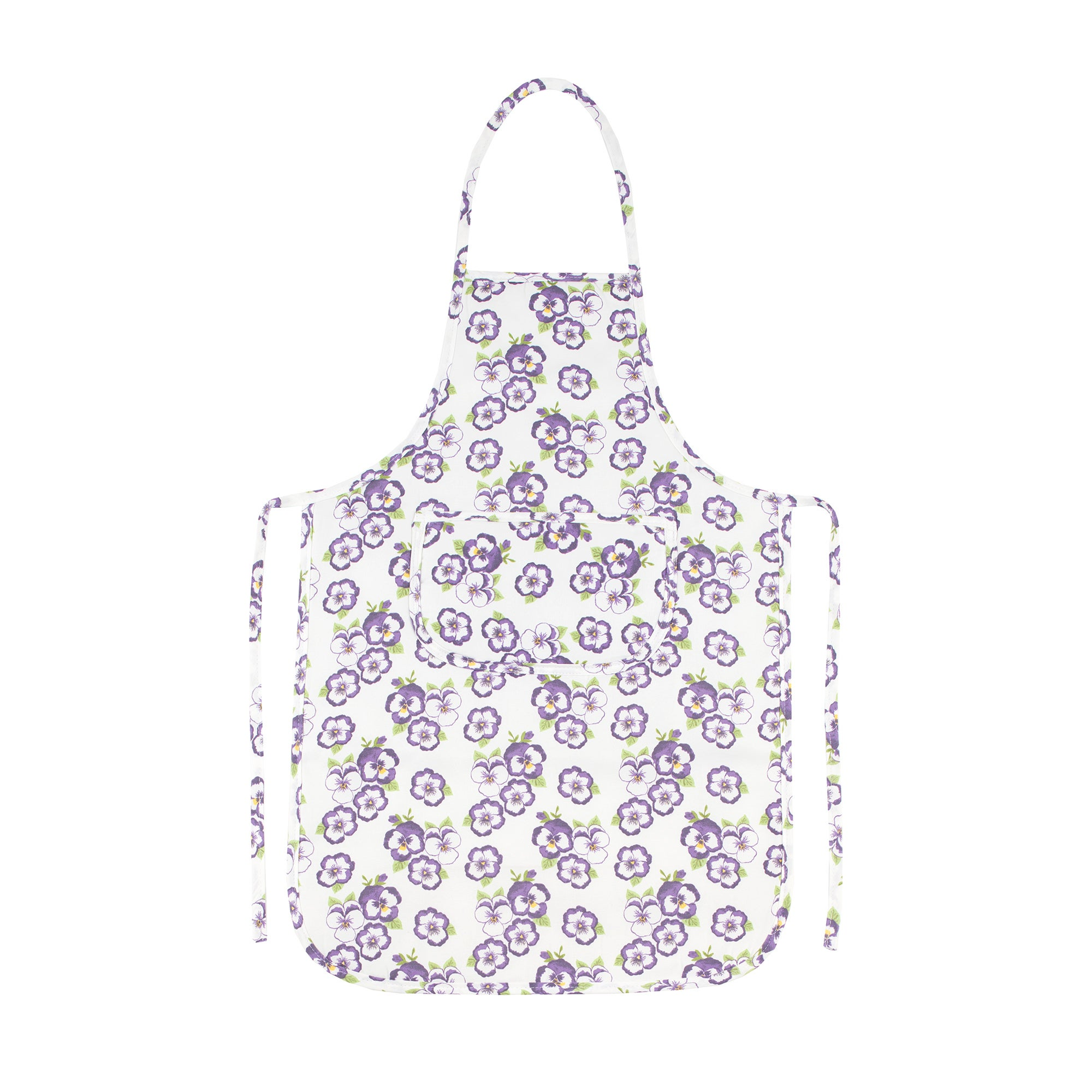 Pansy Collection Apron