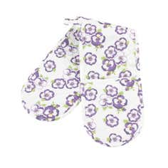 Pansy Collection Double Oven Glove