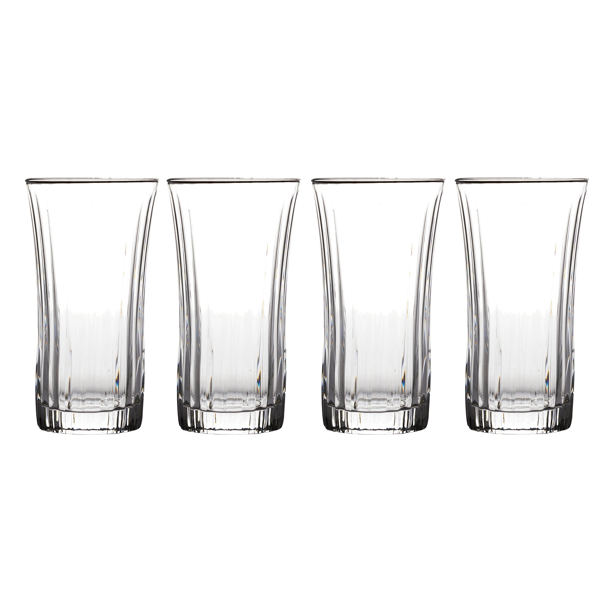 4 Athena Flared Hi Ball Glasses