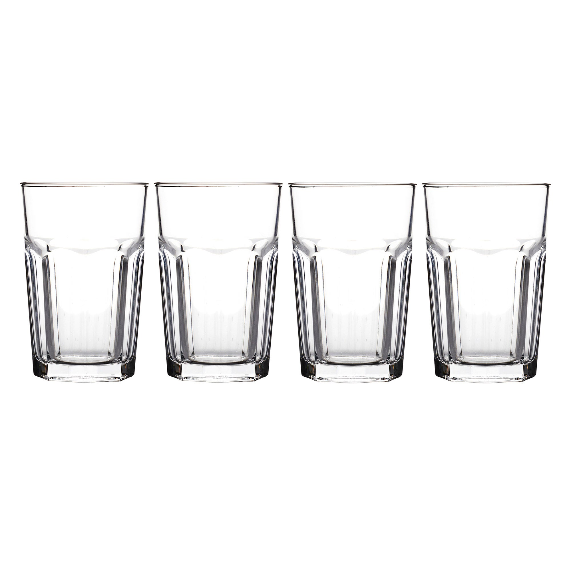 American Soda Set of 4 Tumbler Glasses