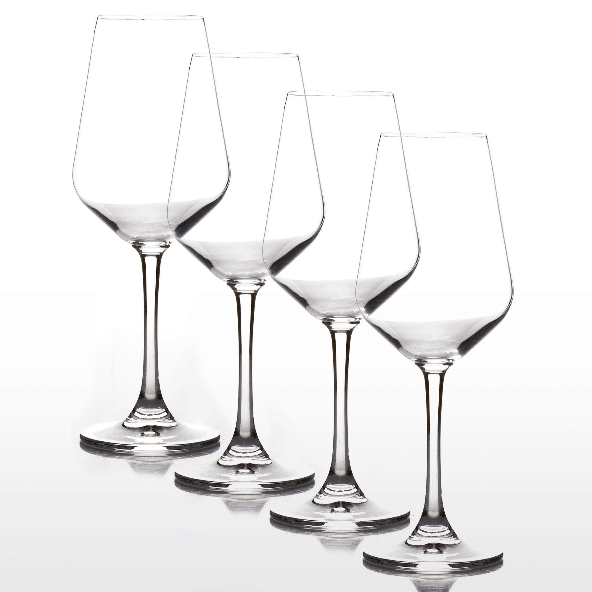 4 Cuvee Red Wine Glasses