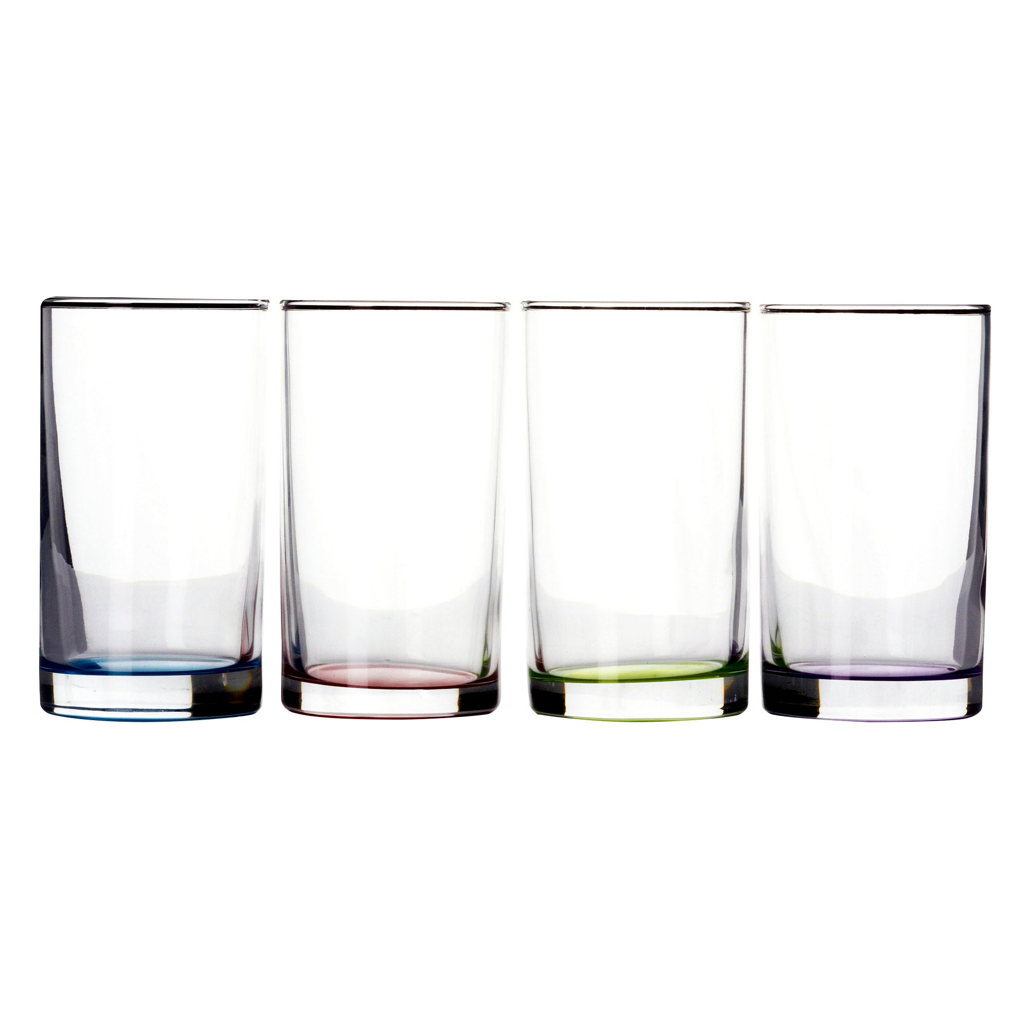 4 Glass Mixers With Sprayed Base