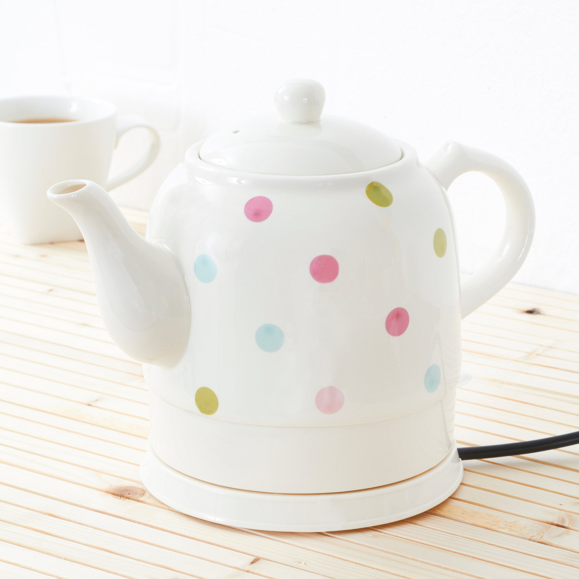 Country Spot Collection Ceramic Kettle