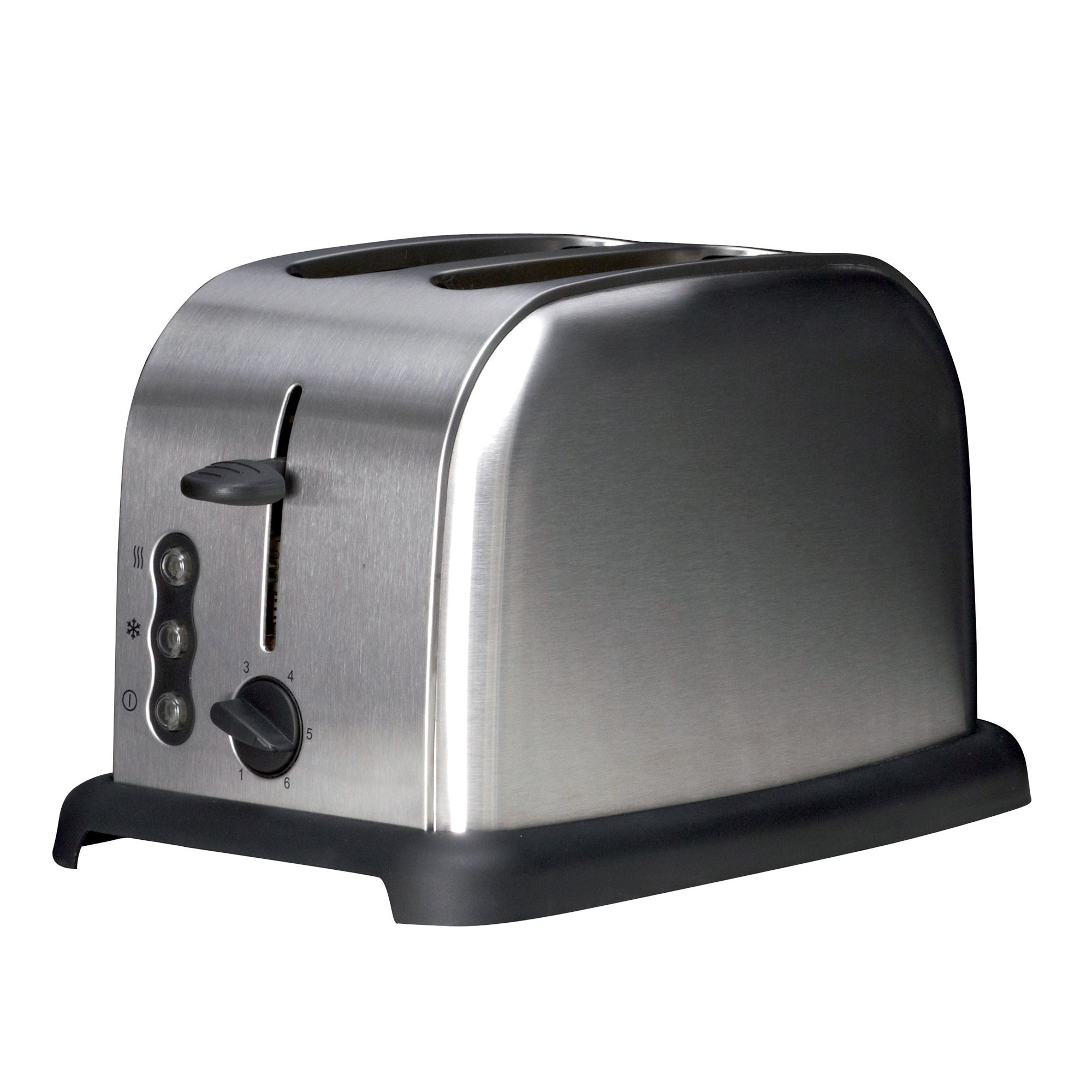 Stainless Steel 2 Slice Toaster