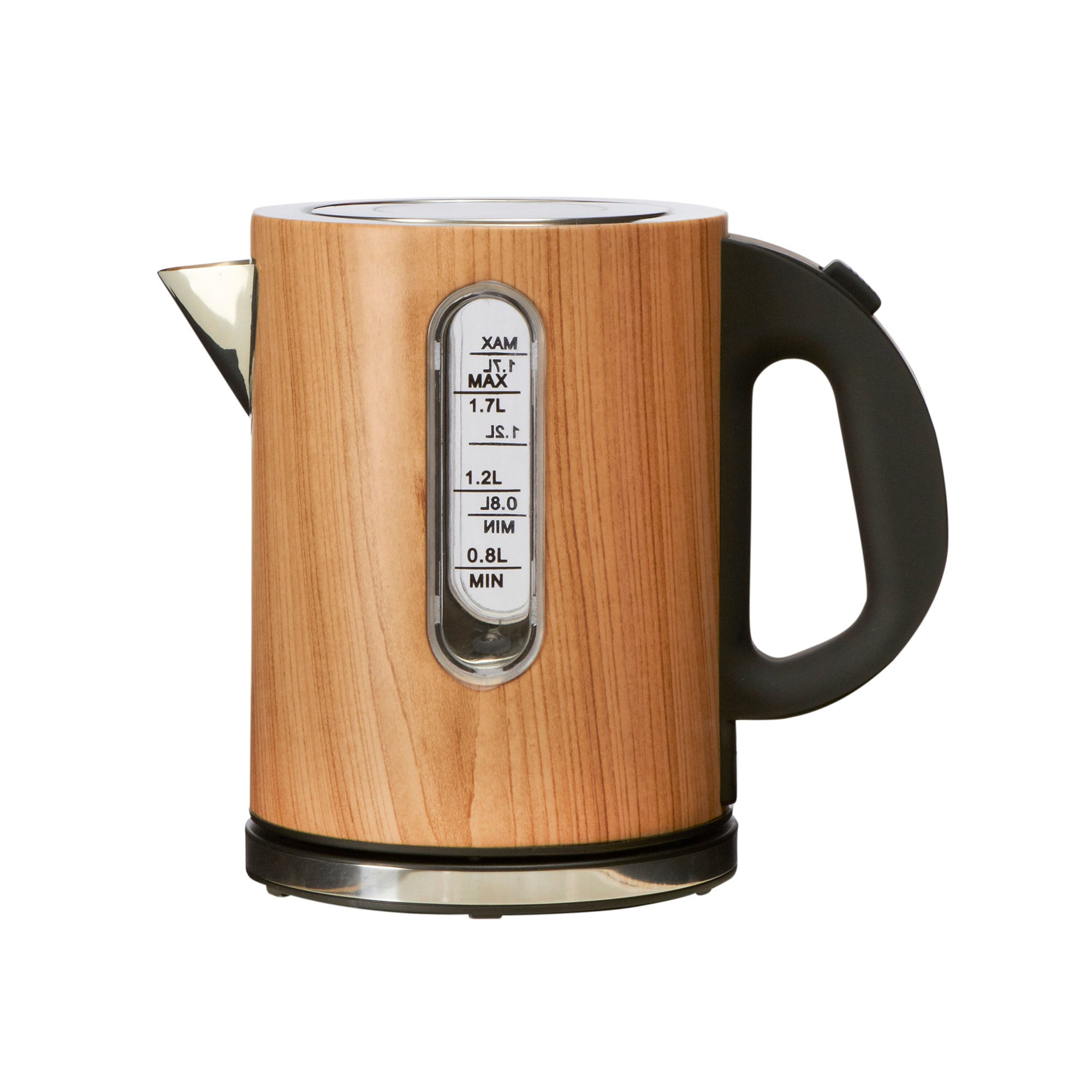 Wooden Printed Kettle