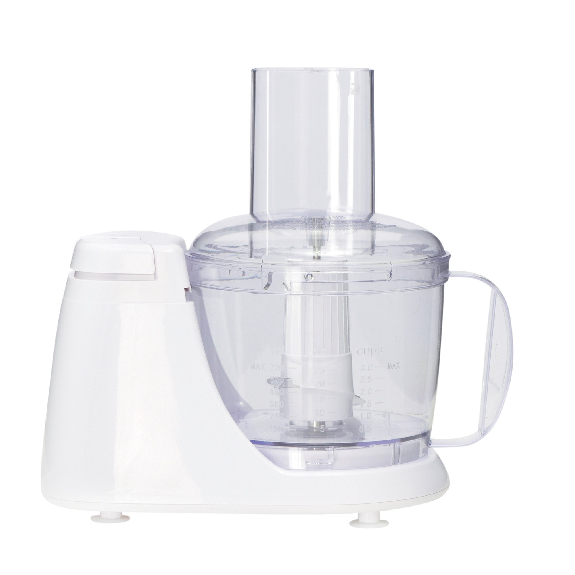 White Mini Food Processor