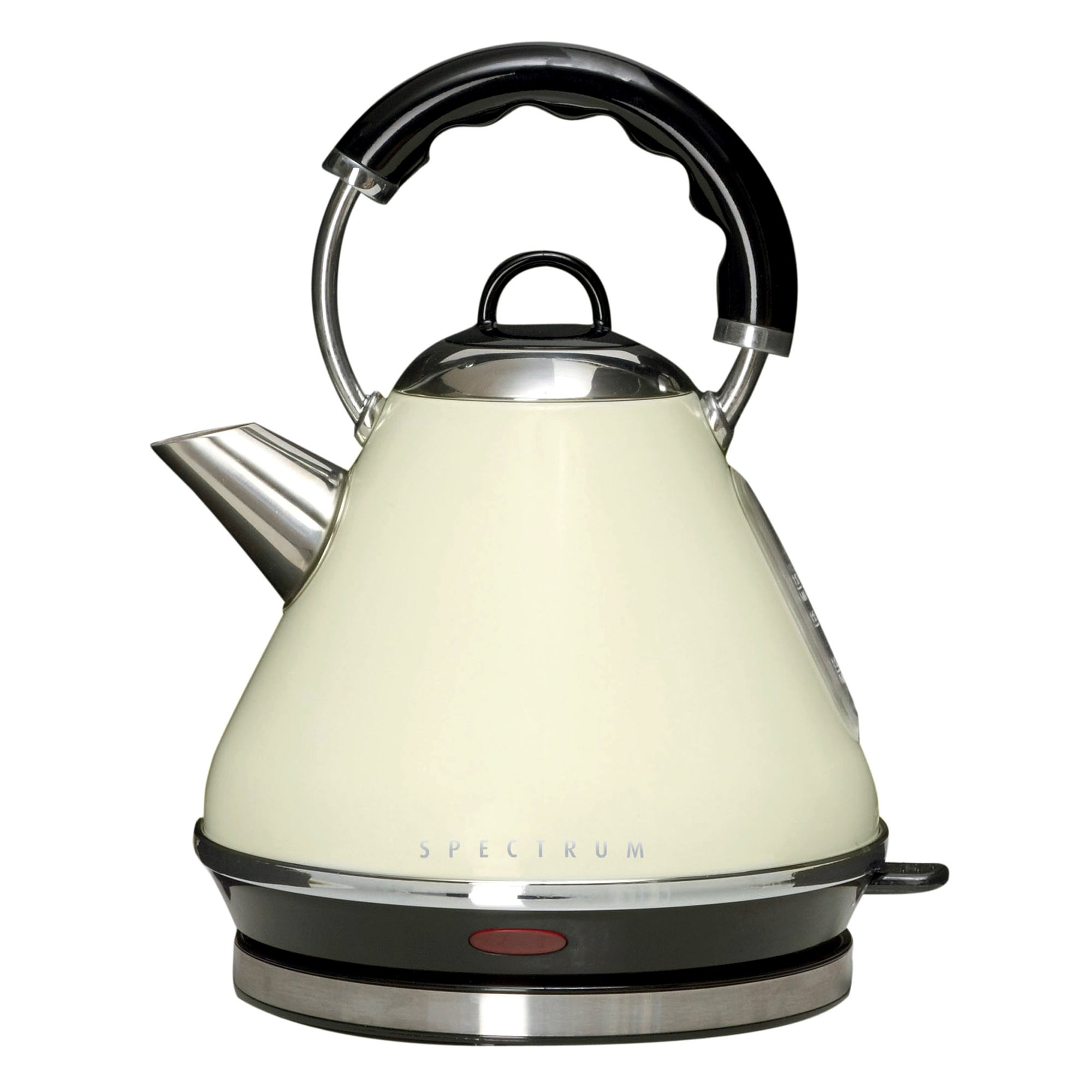 Cream Spectrum Pyramid Kettle