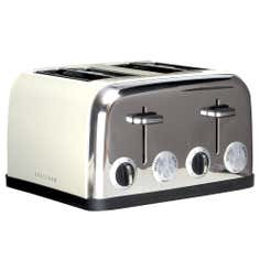Cream Spectrum 4 Slice Toaster